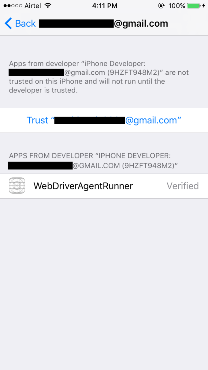 Beginners guide for Appium Automation for iOS apps - Wasiq